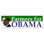 Farmers for Obama bumper sticker