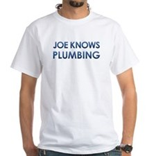 Joe Knows Plumbing / Joe Knows Politics (2 sided)