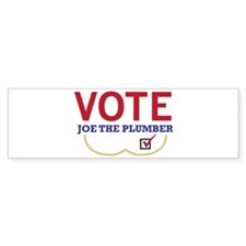 Joe The Plumber Bumper Bumper Sticker