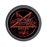 Wicked Pentagram Board Wall Clock