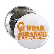 "I wear orange brother 2.25"" Button"