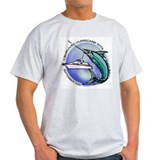 Marlin Survived Rita Ash Grey T-Shirt