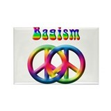 Bagism Peace Sign Rectangle Magnet