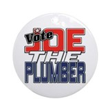 Vote JOE THE PLUMBER! Ornament (Round)
