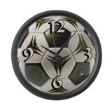 Soccer Large Wall Clock