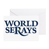 WORLD SERAYS Greeting Card