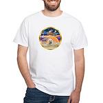 XmasStar/Cairn 4 White T-Shirt
