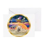 XmasStar/Cairn 4 Greeting Cards (Pk of 20)