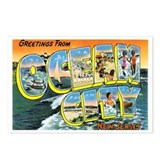 Ocean City New Jersey NJ Postcards (Package of 8)