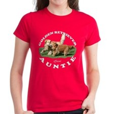 Golden Retriever Auntie T-Shirt
