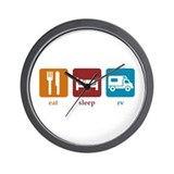 RV Wall Clock