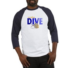 Tropical Fish/Scuba Dive Baseball Jersey