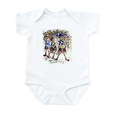 Cute Tartan army Infant Bodysuit