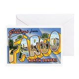 Fargo North Dakota ND Greeting Card