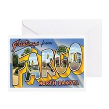 Fargo North Dakota ND Greeting Cards (Pk of 10)