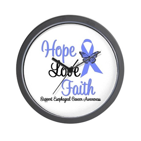 Esophageal Cancer Wall Clock