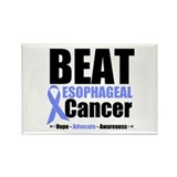 Esophageal Cancer Rectangle Magnet (10 pack)