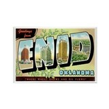 Enid Oklahoma OK Rectangle Magnet (10 pack)