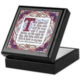 To Thine Own Self Be True Keepsake Box