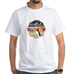 XmasStar/Beagle 2 White T-Shirt
