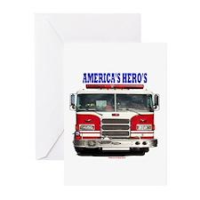 AMERICA'S HERO'S Greeting Cards (Pk of 20)