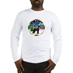 XmasMusic 3/G Schnauzer Long Sleeve T-Shirt