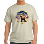 XmasStar/Schnauzer G Light T-Shirt