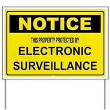 WARNING SURVEILLANCE CAMERA Yard Sign