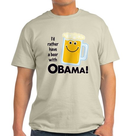 Rather Have a Beer With Light T-Shirt