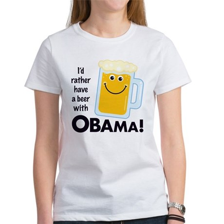 Rather Have a Beer With Women's T-Shirt