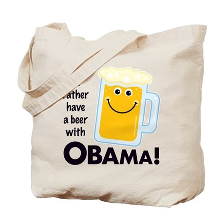 Rather Have a Beer With Tote Bag