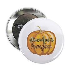 "Grandpa's Pumpkin 2.25"" Button (10 pack)"