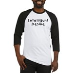 Intelligunt Desine Baseball Jersey