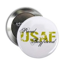 "Proud Boyfriend - USAF 2.25"" Button"