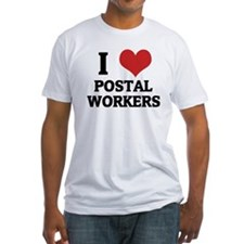 I Love Postal Workers Shirt