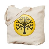 Tree In Amber Tote Bag