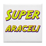 Super araceli Tile Coaster