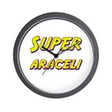 Super araceli Wall Clock