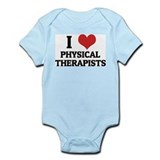 I Love Physical Therapists Infant Creeper