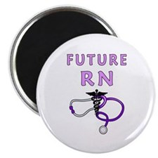 "Nurse Future RN 2.25"" Magnet (100 pack)"