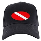Diver Down Flag Baseball Hat