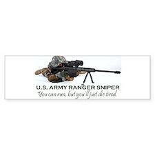 ARMY RANGER SNIPER Bumper Sticker