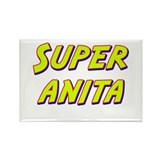 Super anita Rectangle Magnet