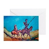 Cute La mancha Greeting Card