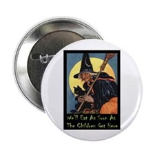 "WITCH - WE'LL EAT 2.25"" Button"