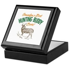 Grandpa's Best Hunting Buddy Ever! Keepsake Box