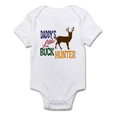 Daddy's Little Buck Hunter Infant Bodysuit