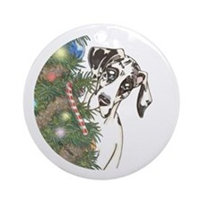 Holiday NH Ornament (Round)