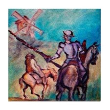 Cool Windmills Tile Coaster