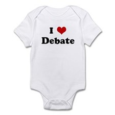 I Love Debate Infant Bodysuit